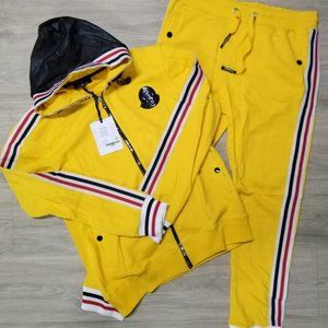 Moncler Track Suit Yellow New Season